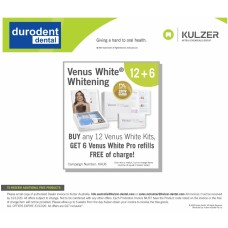 Kulzer 2020 Clinical Promo - Venus White PRO Tooth Whitening BUY 12 KITS GET 6 Refill FREE