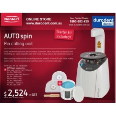 Renfert Auto Spin Pin Drilling Unit 18600000 + MATERIAL PROMO OFFER - SPECIAL ORDER