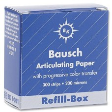 Bausch BK1001 - Refill Box for BK01 - 200u - Blue - 300 Strips