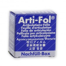 Bausch BK1023 Arti-Fol Refill Box - 22mm Wide - S/Sided - 8µ - Blue - 20m