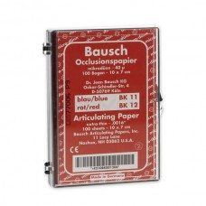Bausch BK12 Box With Sheets - 100 x 70mm - 40µ - Red - 100 Sheets