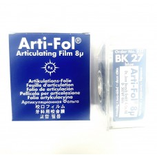 Bausch BK27 Arti-Fol Dispenser - 22mm Wide - D/Sided - 8µ - Blue - 20m