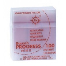Bausch BK52 Progress 100 Plastic Dispenser - 100u - Red - 300 Strips