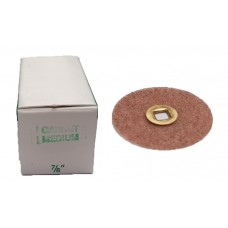 "Moores Plastic Discs Garnet 7/8"" (22mm) - Pack of 50"
