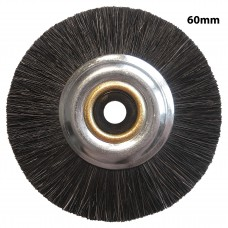 Single Row Slimline Lathe Brush 60mm - 10 Pack