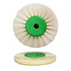 "Poly Buff Soft Scotchbrite - Green Hub - 55mm Dia (2"") - (P049A) 10 Pack"