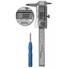 Hammacher Digital Pocket Caliper With Case - HSL 246-15