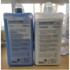 Detax Flexistone Plus Eco Pack - 2 x 1000ml (02329) - DAMAGED PACK CLEARANCE 1 ONLY