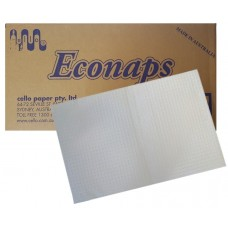 Cello Econaps Dental Bibs - White - 4 Ply - 208 x 280mm - A4 Size (AEN) - 1000/Ctn