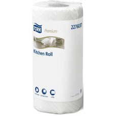 Tork Kitchen Roll Towel Extra Absorbent 2 Ply White - 120 Sheets - 8/Ctn