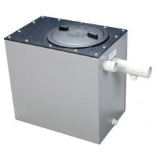 Plaster Trap (Settling Tank) 72L PVC With Lid