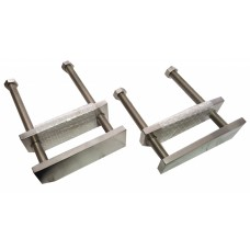 Bolted Flask Clamp Stainless Steel - Size Option Available