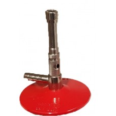 Bunsen Burner 1235 - 105mm - LPG / Propane - Red