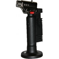 Economy Angled Head Handheld Micro Torch - Black 1300°c