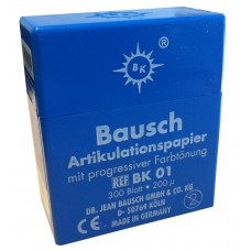 Bausch BK01 Plastic Dispenser - 200u - Blue - 300 Strips