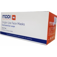 MDDI Face Masks (Level 2) Earloop -  Box 50 - New COVID EMERGENCY STOCK ONLY - Conditions: No Discount / No Returns / No Refunds / No Free Freight