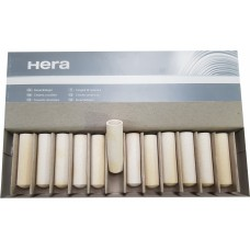 Kulzer Hera Ceramic Crucibles Ø18mm - 63mm long; RC-S/CL-G/CL-G97 - 12 pcs - 64500674 - SPECIAL ORDER