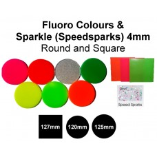 Mouthguard Blanks 4mm - Fluoro and Speedsparks