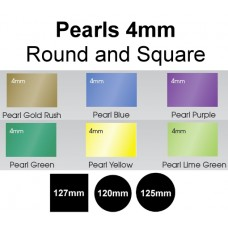 Mouthguard Blanks 4mm - Pearls