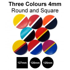 Mouthguard Blanks 4mm - 3 Colour