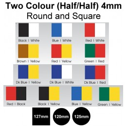 Mouthguard Blanks 4mm - 2 Colours