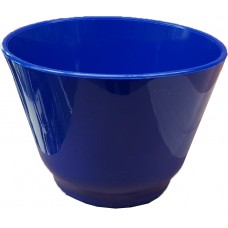 Alginate Mixing Bowl - Flexible - Blue - 280ml, 80mm H x 110Ø