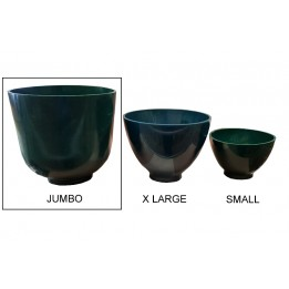 Flexible Plaster and Stone 	Mixing Bowl Flexible Green - Size: JUMBO