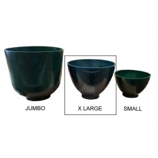 Flexible Plaster and Stone 	Mixing Bowl Flexible Green - Size: X LARGE