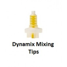 Dynamix Machine 5:1 Mixing Tips - Yellow – Pack 50 – Suits Kulzer Dynamix Cartridges