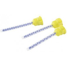 Kulzer 4:1 Ratio Mixing Tips - Yellow / Blue Inside - Pack 48 - REF 66000783