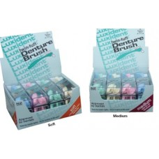 Luxident Denture Brushes - 12