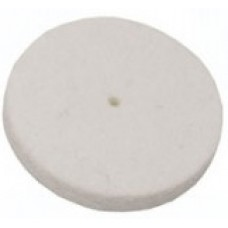 Felt Wheels Soft (25mm dia x 6mm) - Pack of 100
