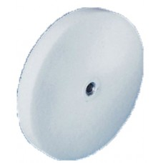White Knockdown Wheel 36-46 Grit (75mm dia x 10mm)