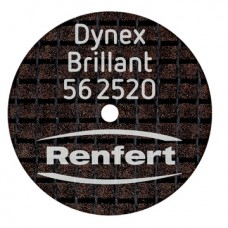Renfert Dynex Brillant (Diamond) Separating / Grinding Discs 20 x 0,25 mm - 10 pcs - 562520