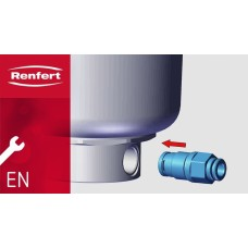 Renfert Basic ECO / Basic Master Sparepart - Black Filter Cartridge for bottom of tanks (Maintenance Item) - Pos 10 – 900021431 – 1pc