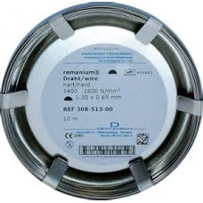 Dentaurum remanium® Stainless Steel Wire - Hard - HALF ROUND - Options Available