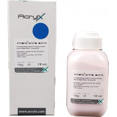 AcrylX Xthetic Prime EXTRA Selfcure Powder V5 Pink Veined 100g