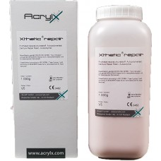AcrylX Xthetic REPAIR Selfcure Powder & Liquid COMBO PACKS - Shade V5 Pink Veined - 1kg, 3kg, 5kg, 8kg