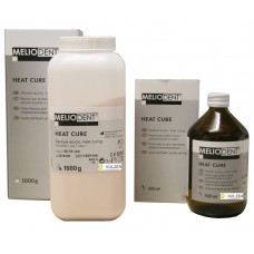 Kulzer Meliodent Heatcure CLEAR Powder & Liquid Combo Packs - 1kg - 3kg - 6kg or 10kg