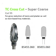 Edenta TC Cross Cut Super Coarse Burs - Black Band - Options Available