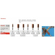 Edenta Carborundum Abrasives - Brown - Options Available
