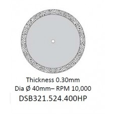 Edenta Sintered Diamond Disc DSB321.524.400HP