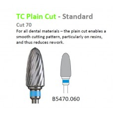 Edenta TC Plain Cut Standard Bur 5470.060 Blue Band