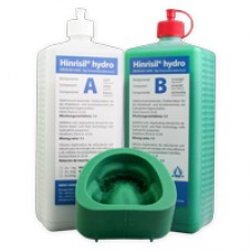 Ernst Hinrichs Hinrisil Hydro Duplicating Silicone 1:1 - Green - 2 x 1kg (2kg) - 107960