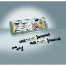Detax easyform LC Gel Modelling Resin - 1 set (3 x 3g Syringes) - 03376