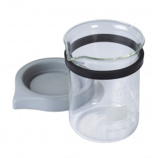 Renfert Easyclean Glass Jar With Lid 600ml - 1 Peice 1850‐0006