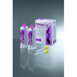 Detax Detaseal Hydroflow Lite, Fast Set, Purple 2 x 50ml