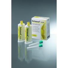 Detax Detaseal Hydroflow Mono - Fast Set - Bright Yellow 2 x 50ml (Scannable)