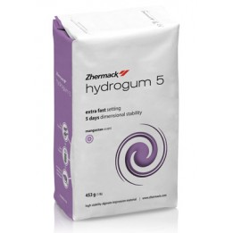 Zhermack Hydrogum 5 - Purple Alginate - High Stability - 1 x 453g