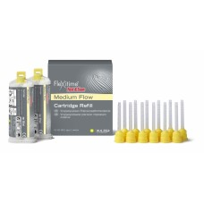 Kulzer Flexitime FAST & SCAN Medium Flow - Medium (Yellow) - 2 x 50ml - 66044881 - CLEARANCE SHORT DATED EX 2021-03-07
